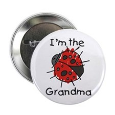 "I'm the Grandma Ladybug 2.25"" Button"
