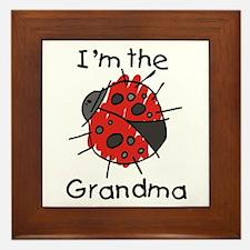 I'm the Grandma Ladybug Framed Tile