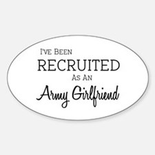 I've been recruited! Oval Decal