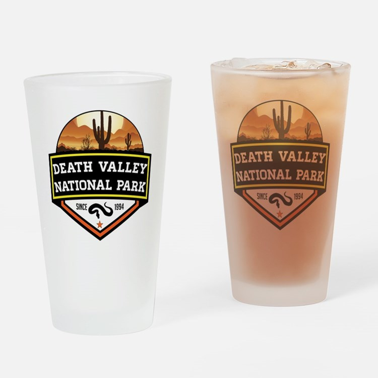 Cute Death valley Drinking Glass