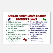 German Shorthaired Pointer Property Laws 2 Postcar