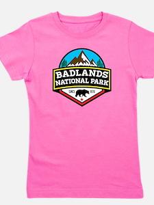 Unique Badlands national park Girl's Tee