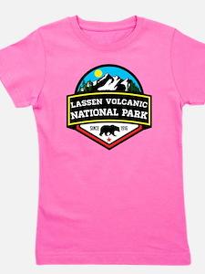 Funny Lassen volcanic national park Girl's Tee