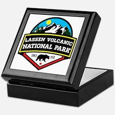 Unique Lassen volcanic national park Keepsake Box