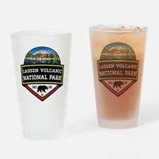 Unique Lassen volcanic national park Drinking Glass