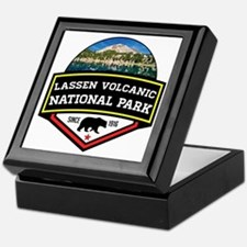 Cute Lassen volcanic national park Keepsake Box