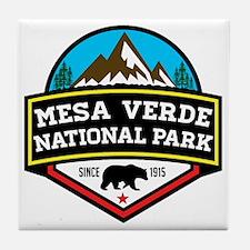Cute Mesa verde national park Tile Coaster