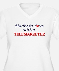 Madly in love with a Telemarkete Plus Size T-Shirt