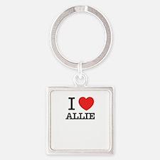 I Love ALLIE Keychains