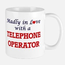 Madly in love with a Telephone Operator Mugs