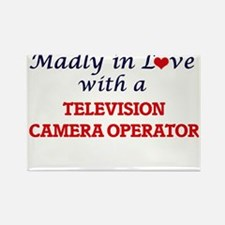 Madly in love with a Television Camera Ope Magnets