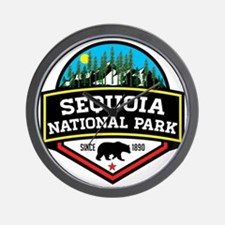 Cute Sequoia national park Wall Clock