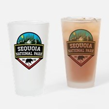Cute Sequoia Drinking Glass