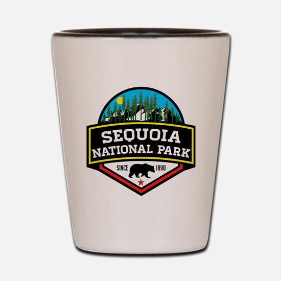 Cute Sequoia national park Shot Glass