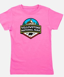 Cute Yellowstone Girl's Tee