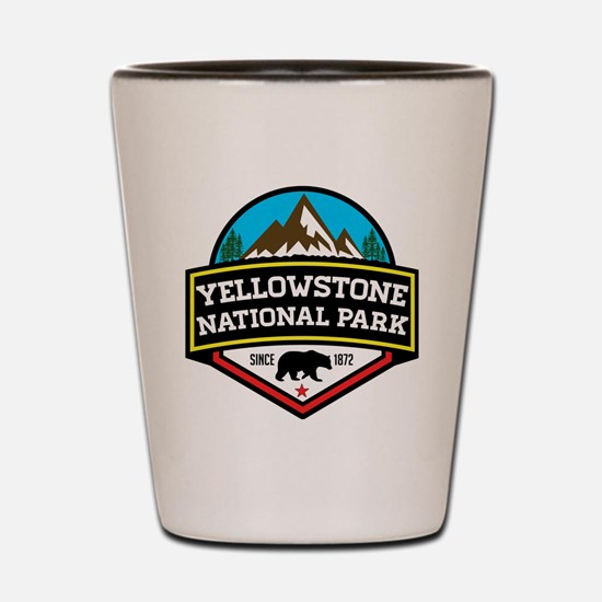 Unique Yellowstone Shot Glass