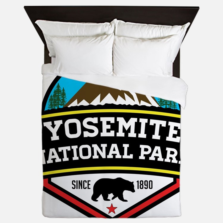 Cute Yosemite Queen Duvet