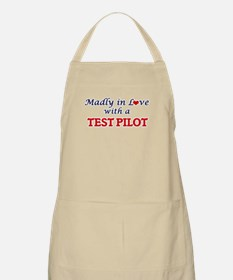 Madly in love with a Test Pilot Apron