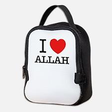 I Love ALLAH Neoprene Lunch Bag