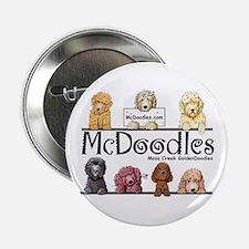 """McDoodles Logo 2.25"""" Button"""