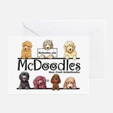 Goldendoodle McDoodles Greeting Cards (Pk of 10)