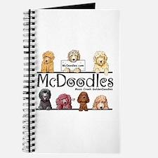 Goldendoodle McDoodles Journal