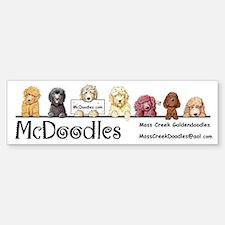 McDoodles Logo Bumper Bumper Sticker