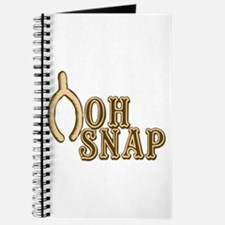 Oh Snap Wishbone Thankgiving Luck Journal