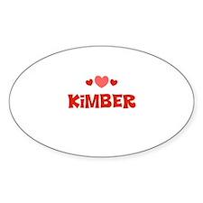Kimber Oval Decal
