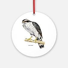 Northern Goshawk Hawk Keepsake (Round)