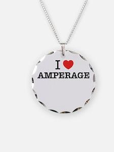 I Love AMPERAGE Necklace