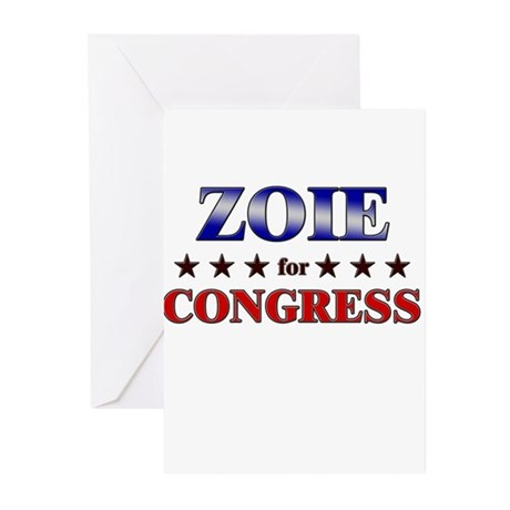 ZOIE for congress Greeting Cards (Pk of 20)