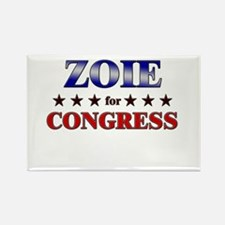 ZOIE for congress Rectangle Magnet