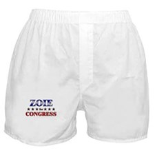 ZOIE for congress Boxer Shorts