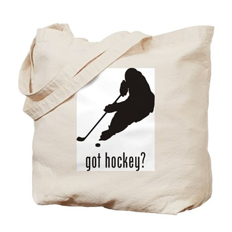 Hockey 5 Tote Bag