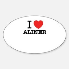I Love ALINER Decal
