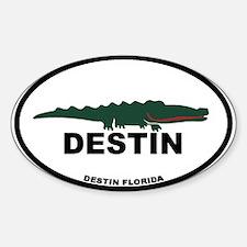 Destin Florida - Alligator Design. Decal