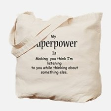 Unique Super power Tote Bag
