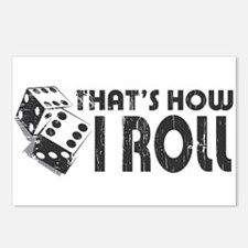 That's How I Roll Postcards (Package of 8)