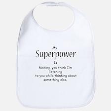 Superpower Bib