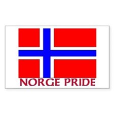 NORGE PRIDE Rectangle Decal