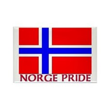 NORGE PRIDE Rectangle Magnet