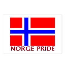 NORGE PRIDE Postcards (Package of 8)