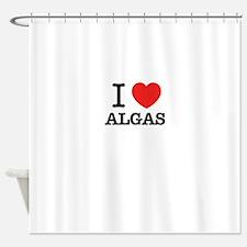 I Love ALGAS Shower Curtain