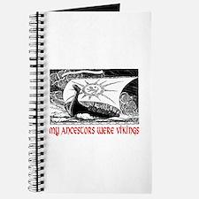 MY ANCESTORS WERE VIKINGS Journal