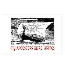 MY ANCESTORS WERE VIKINGS Postcards (Package of 8)