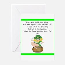 limerick Greeting Cards