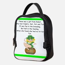 limerick Neoprene Lunch Bag