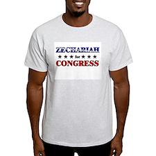 ZECHARIAH for congress T-Shirt