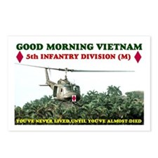 5th INFANTRY DIV VIETNAM Postcards (Package of 8)